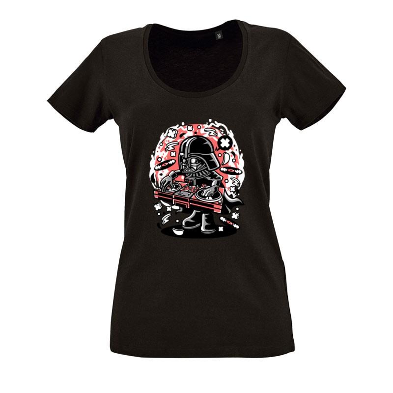 DJ Vader O nyakú női póló