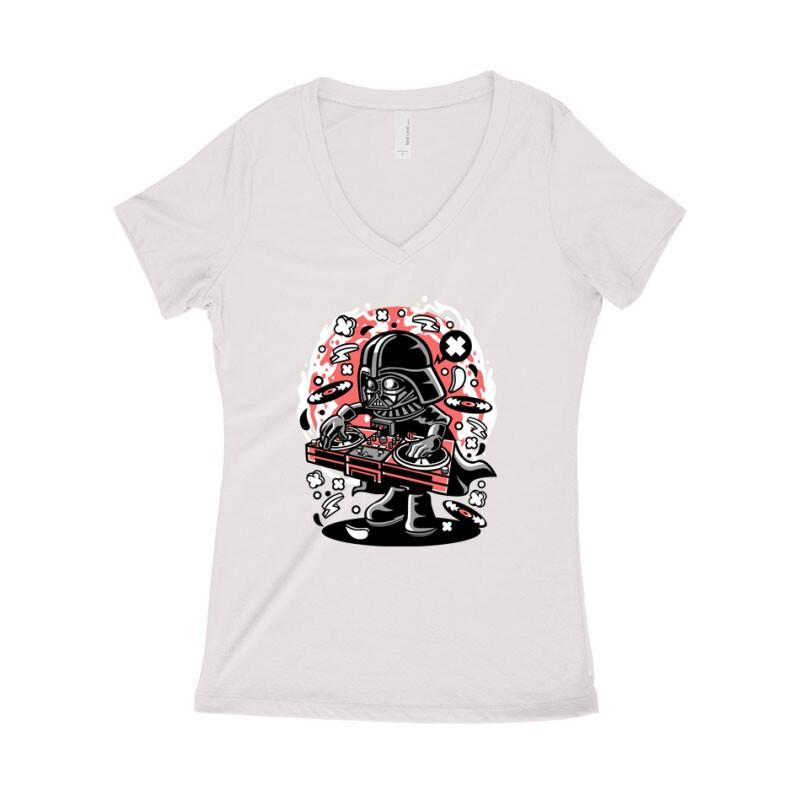 DJ Vader Női póló V kivágott