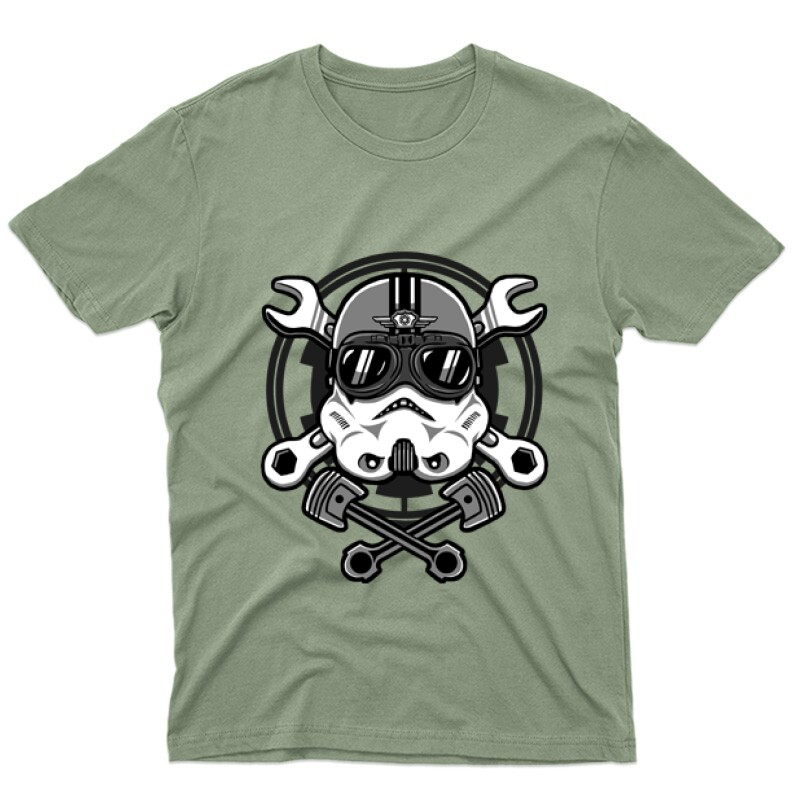 Stormtrooper Racer Férfi póló