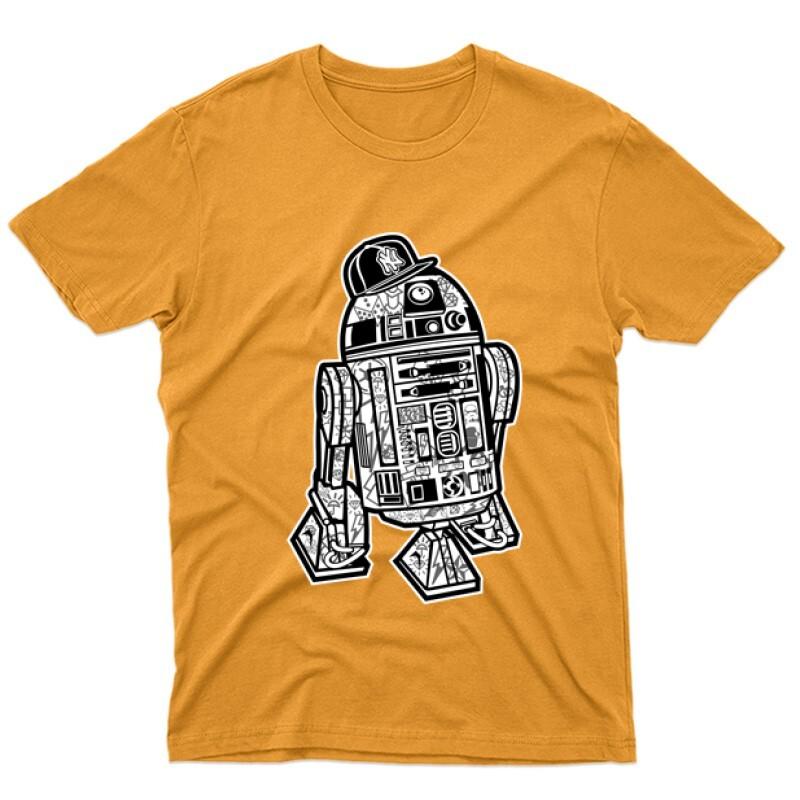 Street R2D2 Férfi póló
