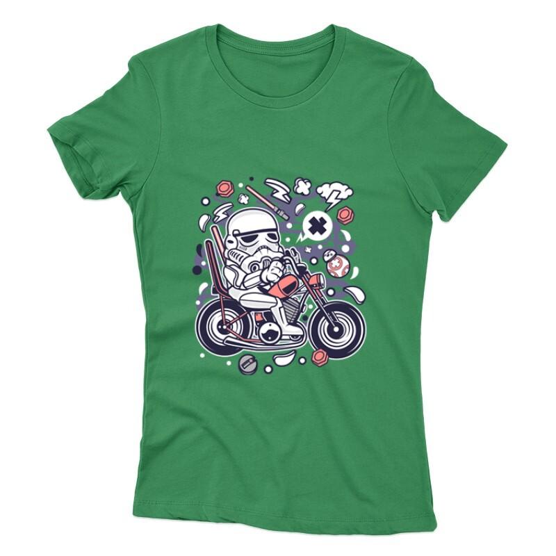 Trooper Biker Női póló