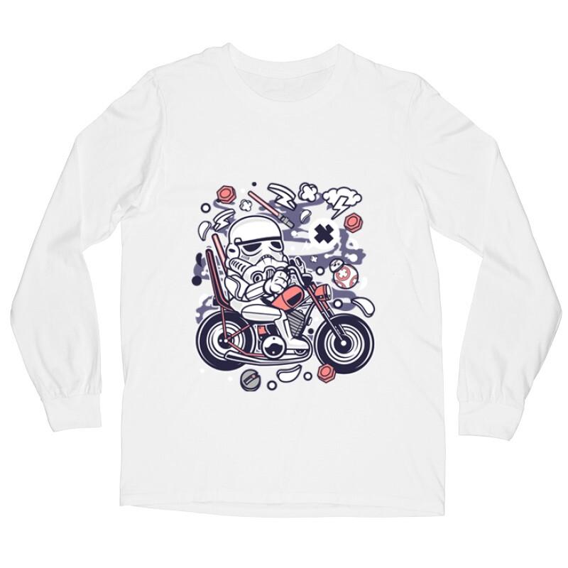 Trooper Biker Hosszú ujjú póló