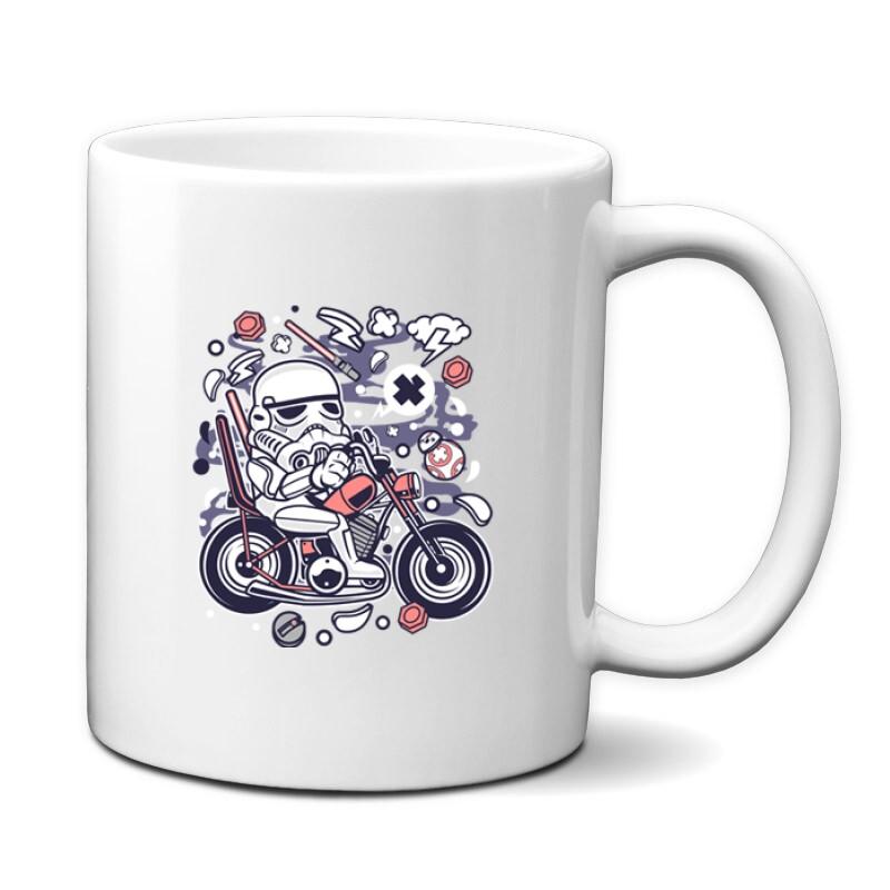 Trooper Biker Bögre