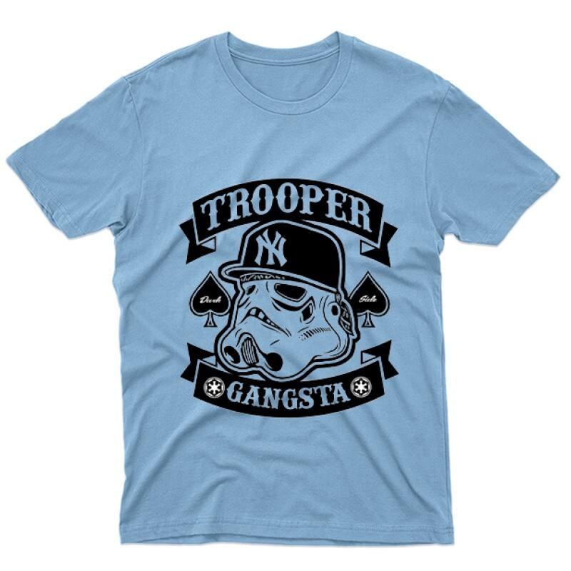 Trooper Gangsta Férfi póló