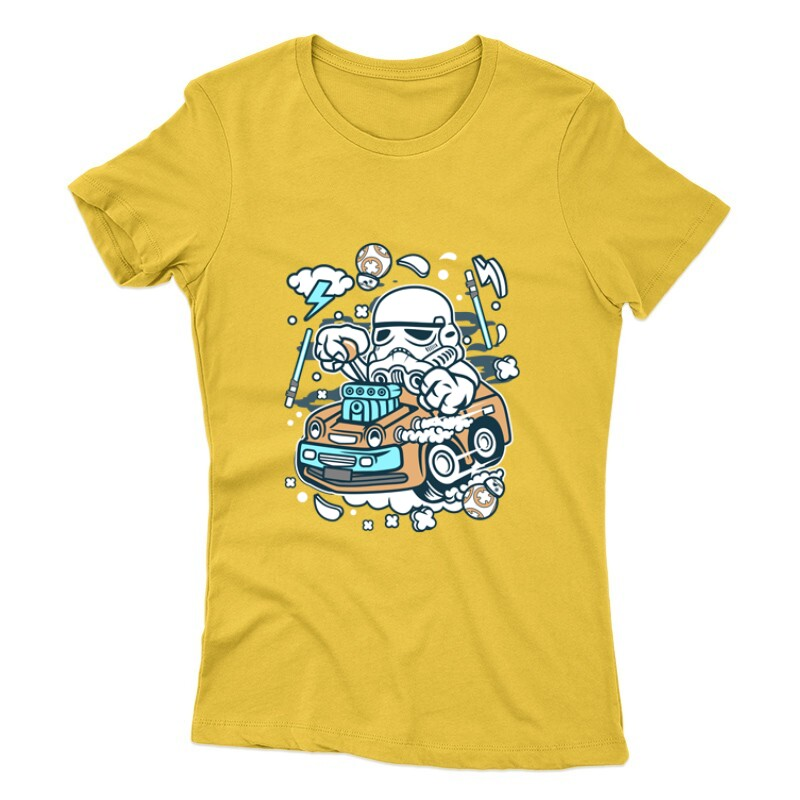 Trooper Hotrod Női póló