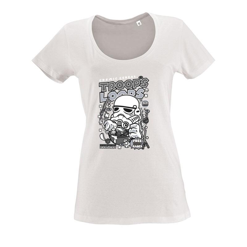 Trooper Loops O nyakú női póló