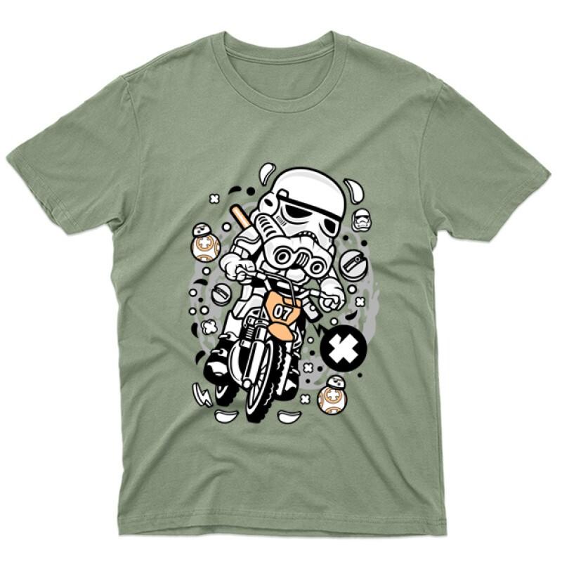 Trooper Motocross Férfi póló