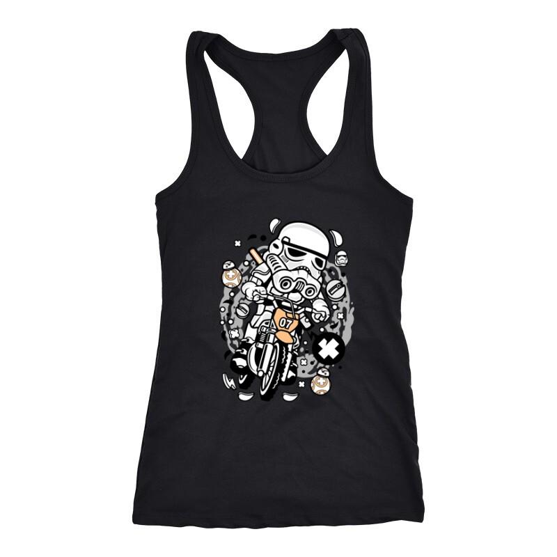 Trooper Motocross Női Trikó