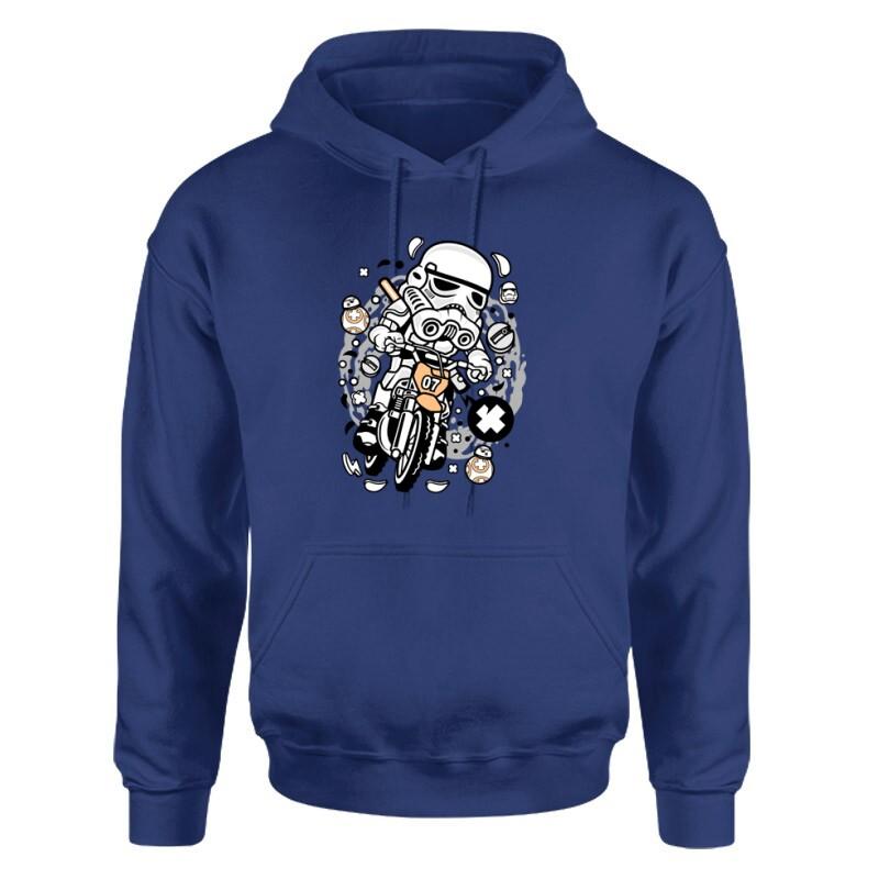 Trooper Motocross Unisex pulóver