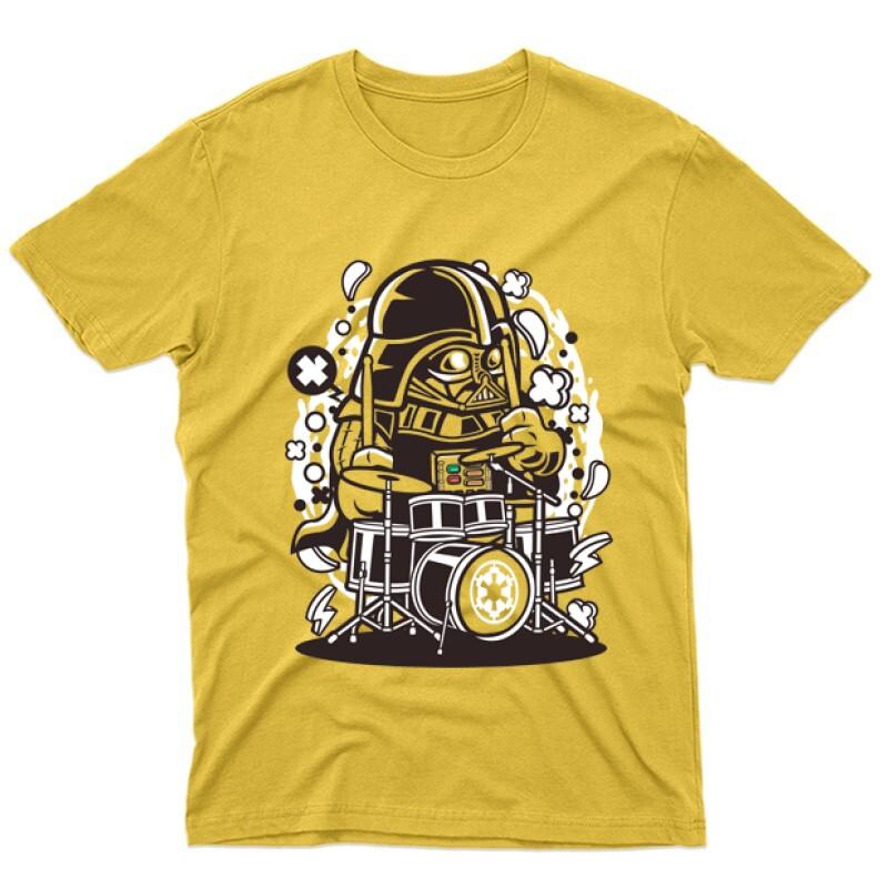 Vader Drummer Férfi póló