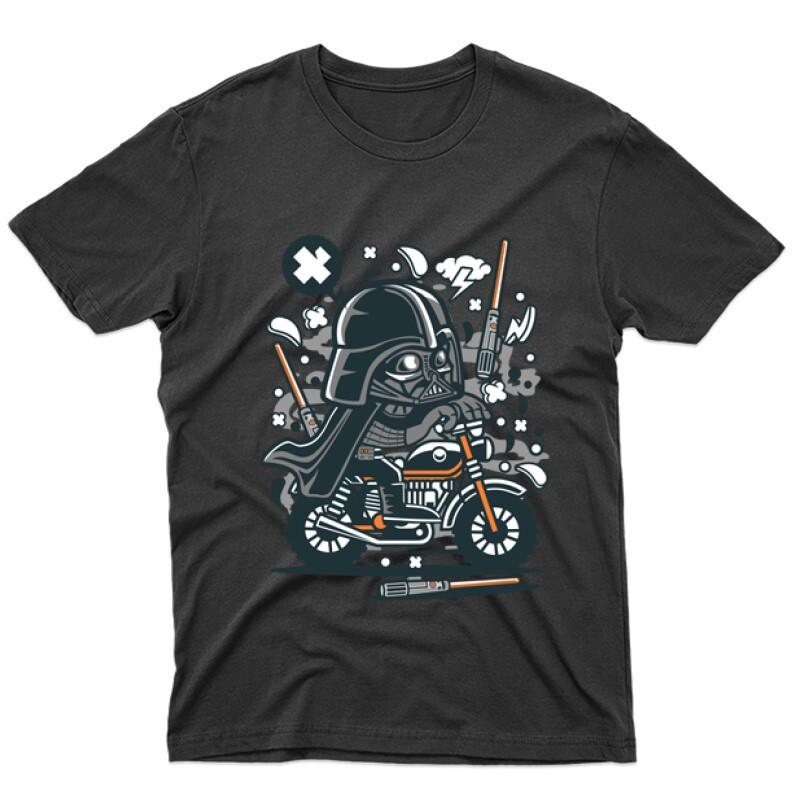 Vader Motocross Férfi póló