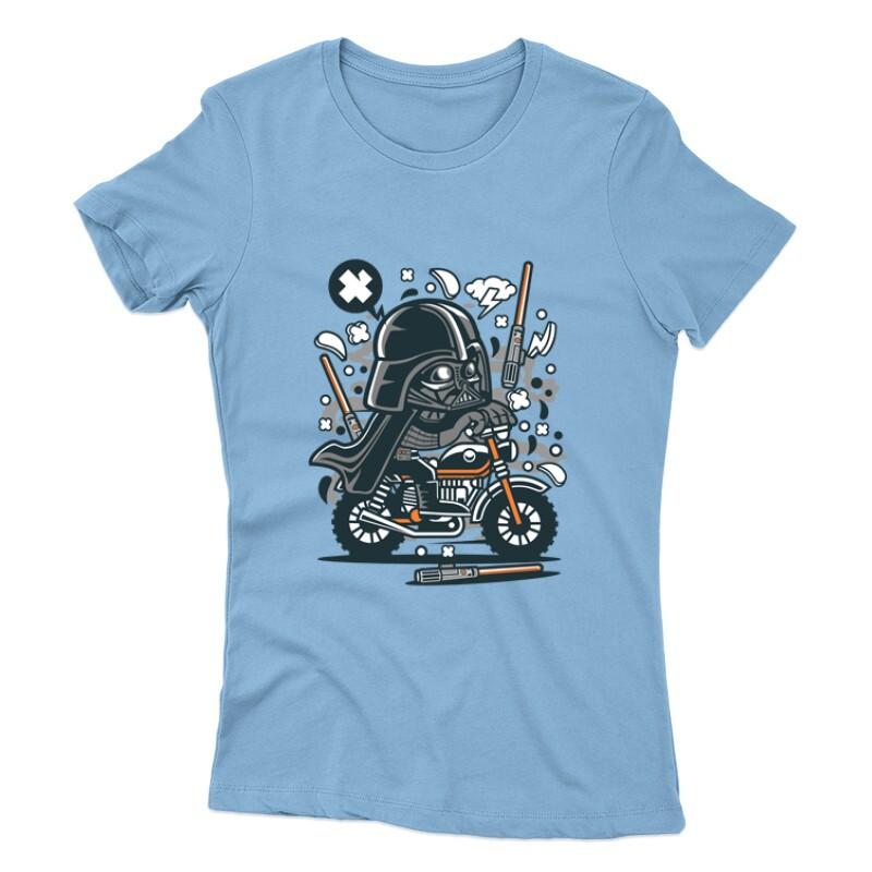 Vader Motocross Női póló