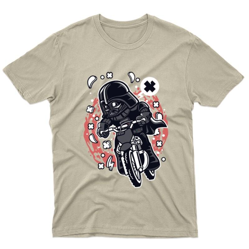 Vader Motocross Rider Férfi póló