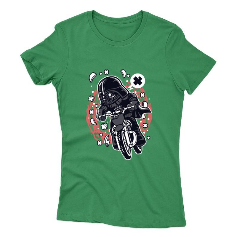 Vader Motocross Rider Női póló