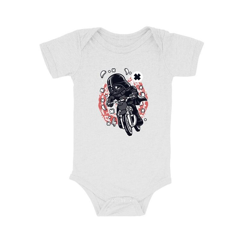 Vader Motocross Rider Bébi body
