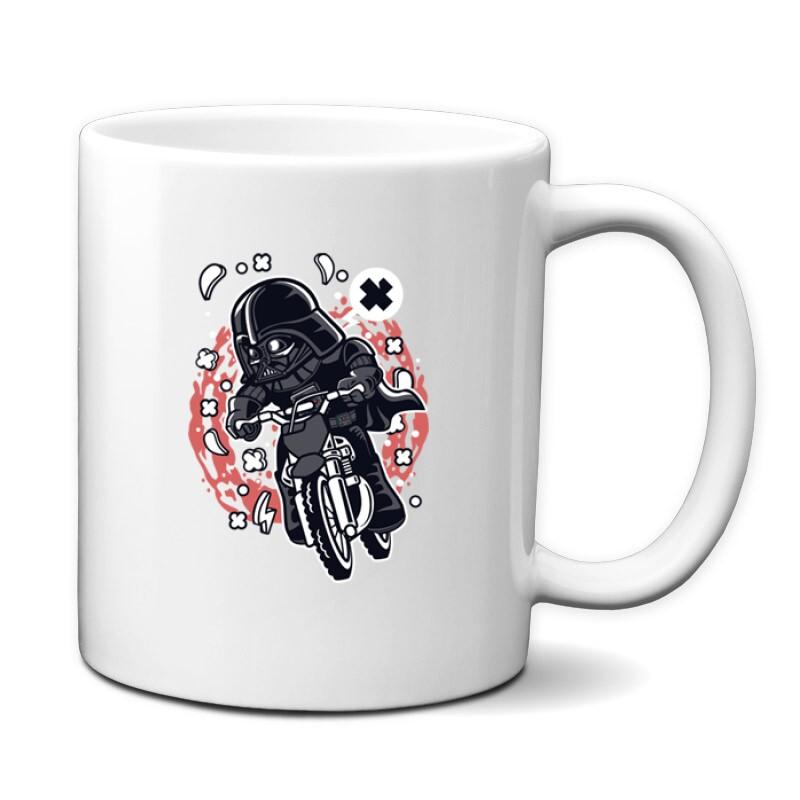 Vader Motocross Rider Bögre