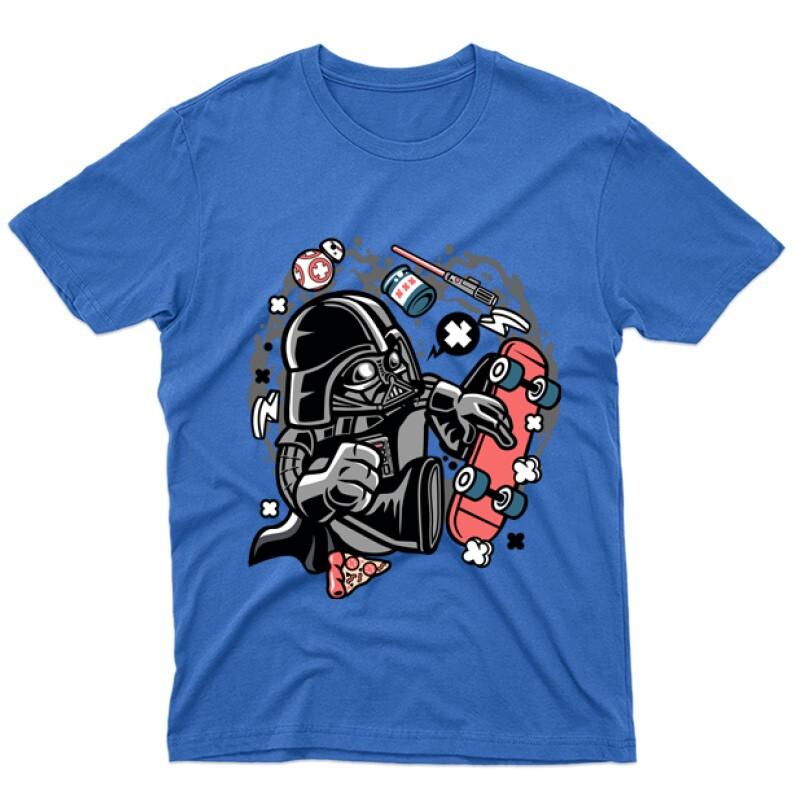 Vader Skater Férfi póló