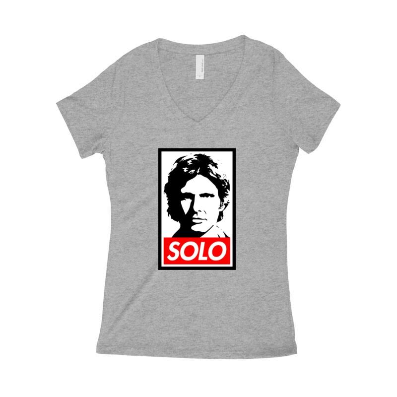 Solo Női póló V kivágott