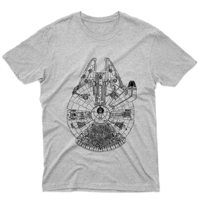 Millennium Falcon Férfi póló