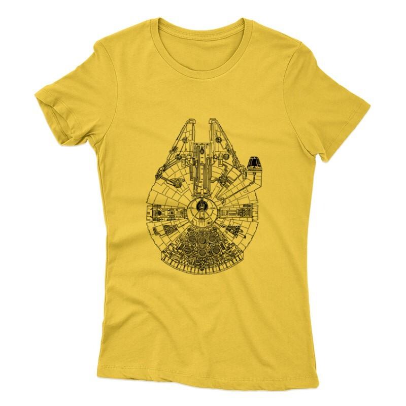 Millennium Falcon Női póló