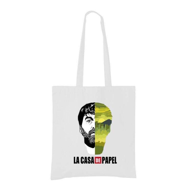 Bogota city & face Bevásárló táska