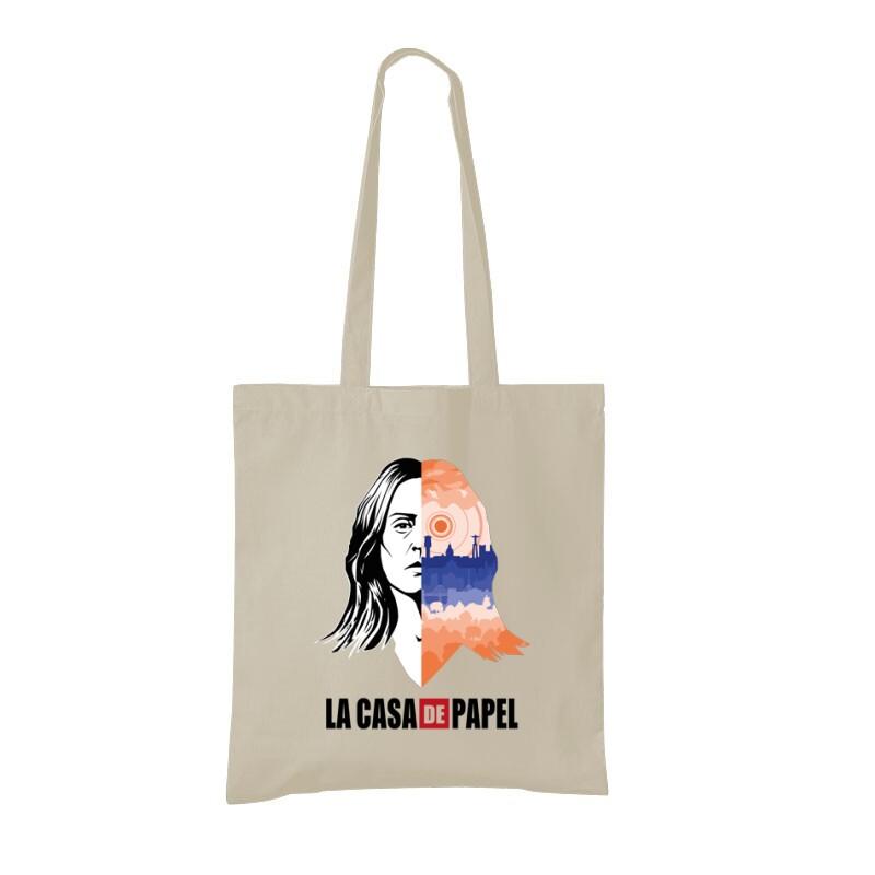 Lisszabon City & Face Bevásárló táska