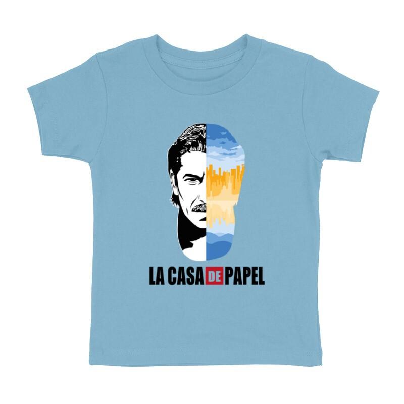 Marseille City & Face Gyermek póló