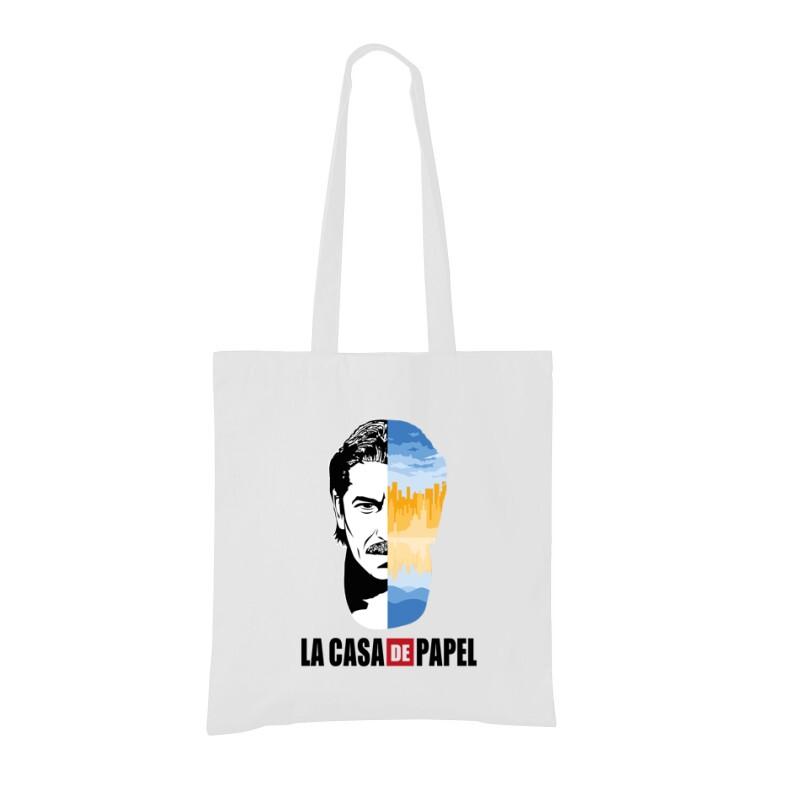 Marseille City & Face Bevásárló táska