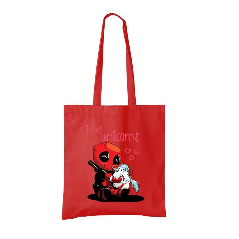 I Love Unicorns (Deadpool) Bevásárló Táska