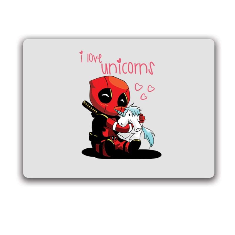 I Love Unicorns (Deadpool) Egérpad