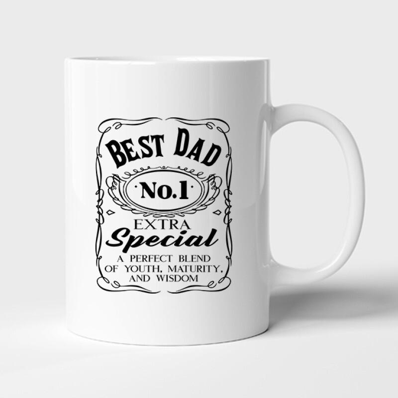 Best Dad Bögre