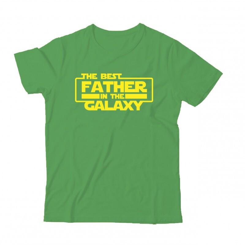 Best Father In The Galaxy Gyermek Póló