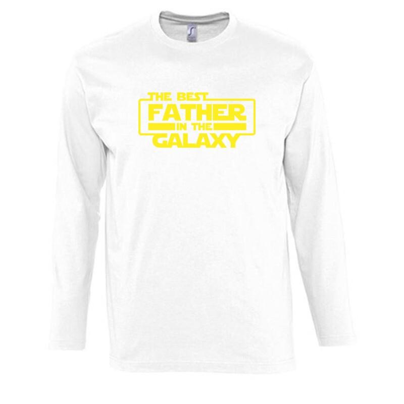 Best Father In The Galaxy Hosszú Ujjú Póló