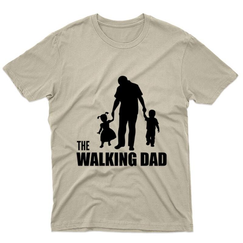 The Walking Dad (Álló, sétáló) Unisex Póló