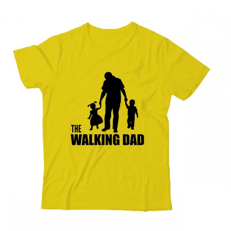 The Walking Dad (Álló, sétáló) Gyermek Póló