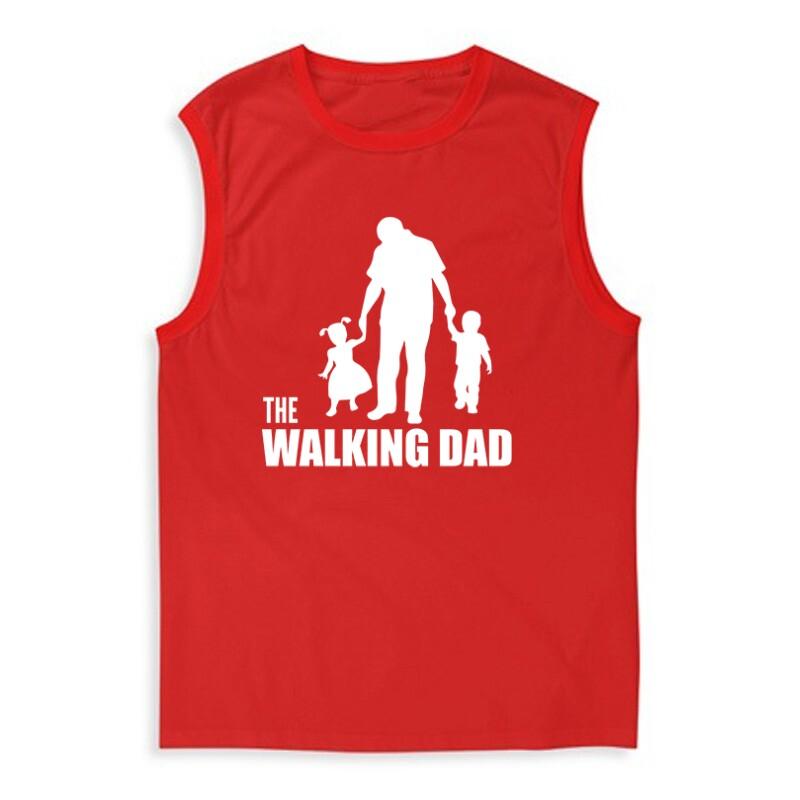The Walking Dad (Álló, sétáló) Férfi Trikó