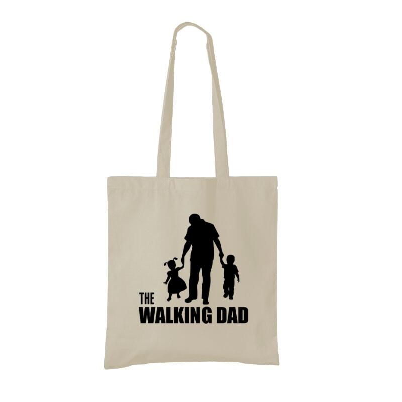 The Walking Dad (Álló, sétáló) Bevásárló Táska