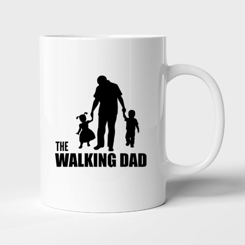The Walking Dad (Álló, sétáló) Bögre