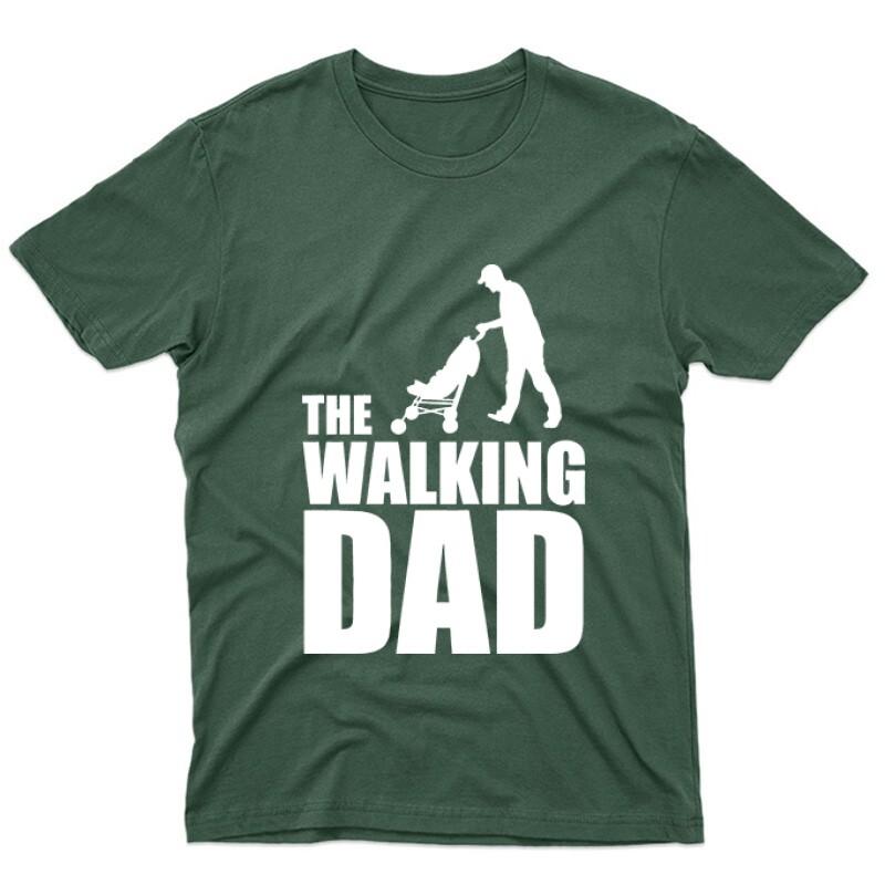 The Walking Dad (Babakocsis) Unisex Póló