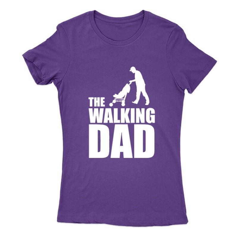 The Walking Dad (Babakocsis) Női Póló