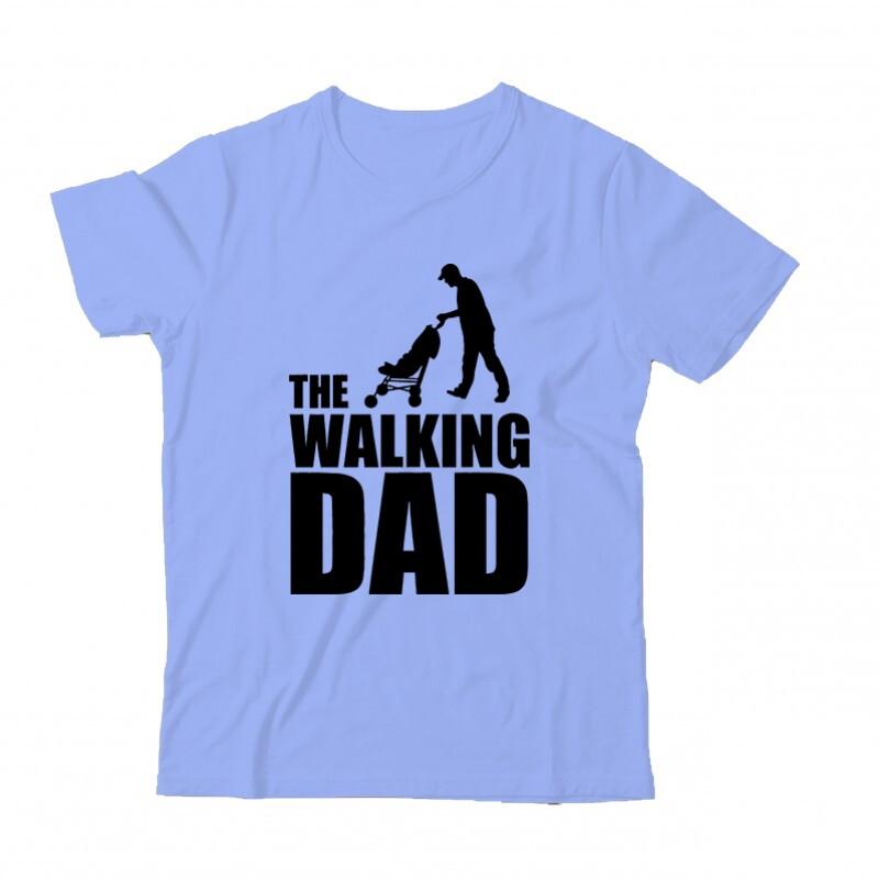 The Walking Dad (Babakocsis) Gyermek Póló