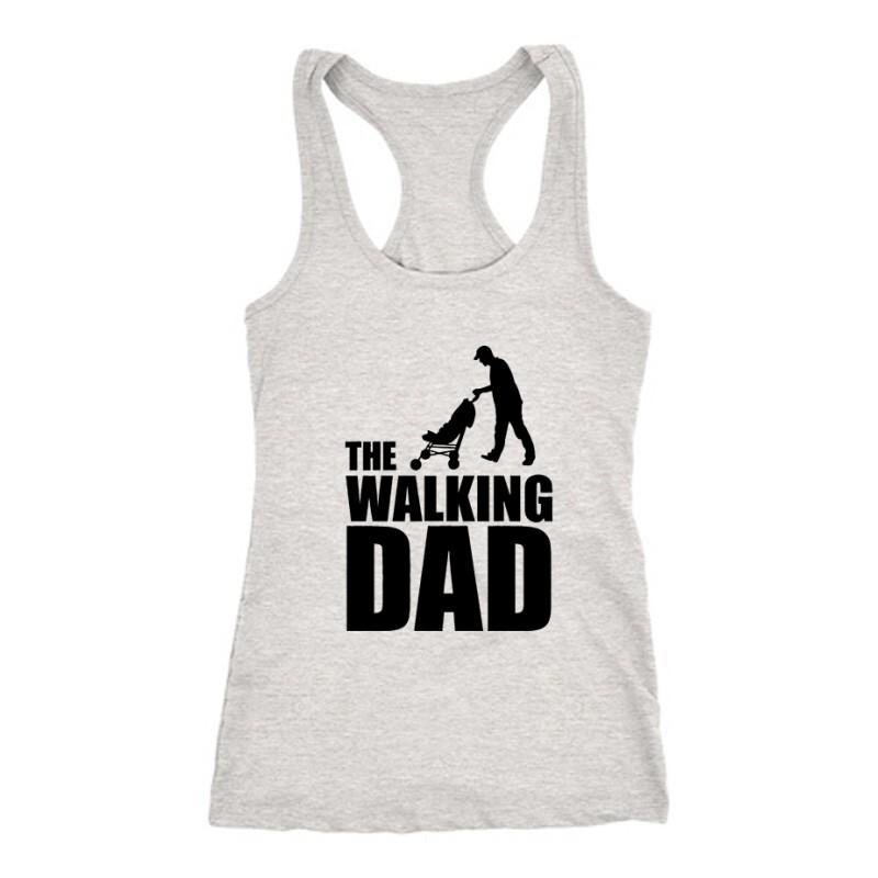 The Walking Dad (Babakocsis) Női Trikó