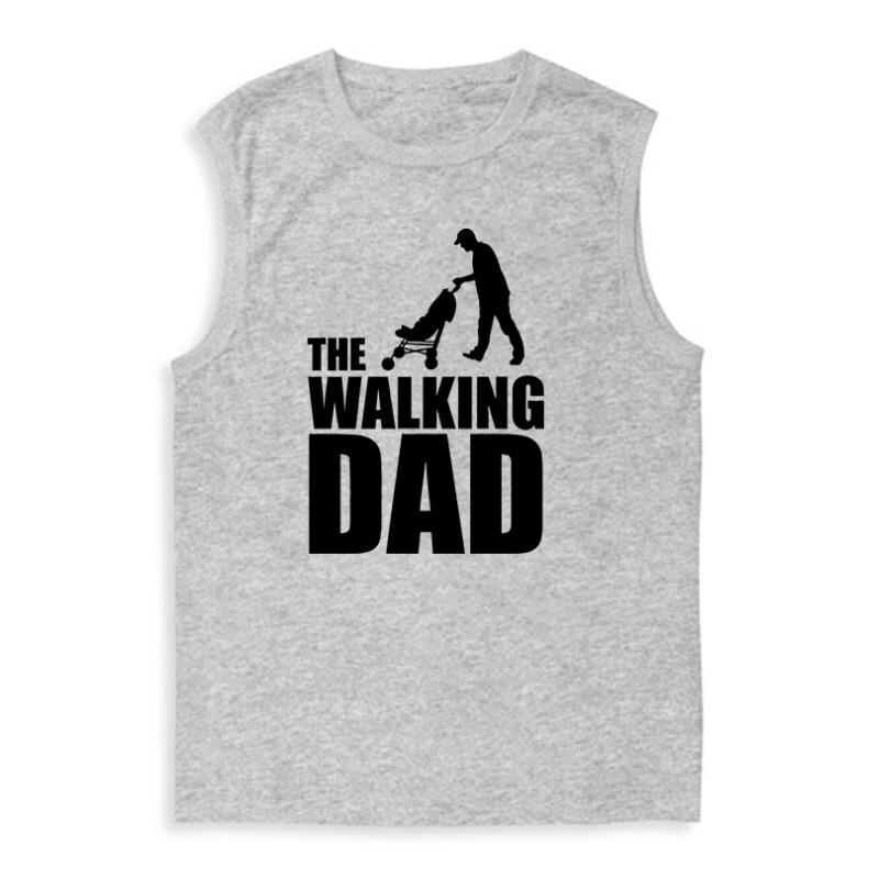 The Walking Dad (Babakocsis) Férfi Trikó