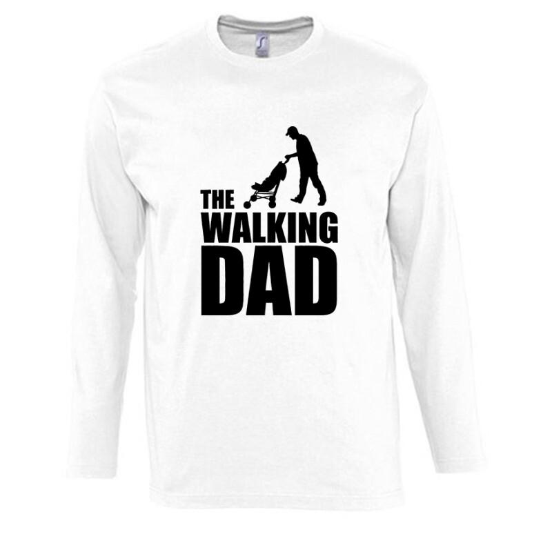 The Walking Dad (Babakocsis) Hosszú Ujjú Póló