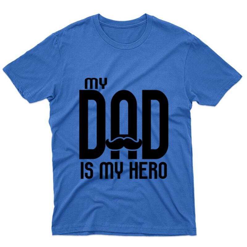My dad is my hero Unisex Póló
