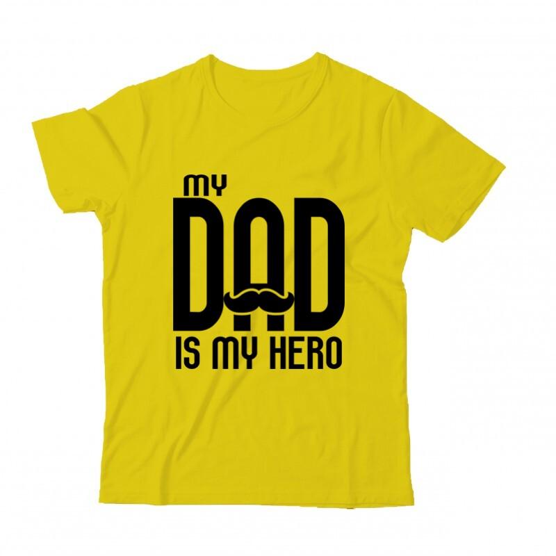 My dad is my hero Gyermek Póló