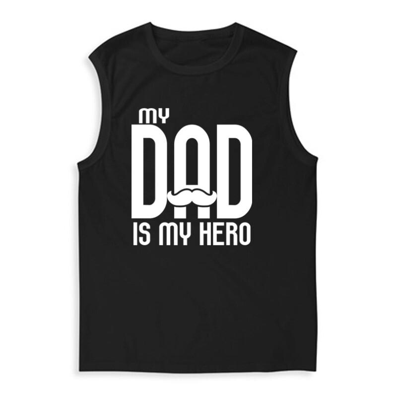 My dad is my hero Férfi Trikó