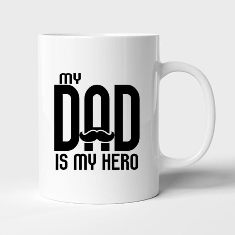 My dad is my hero Bögre
