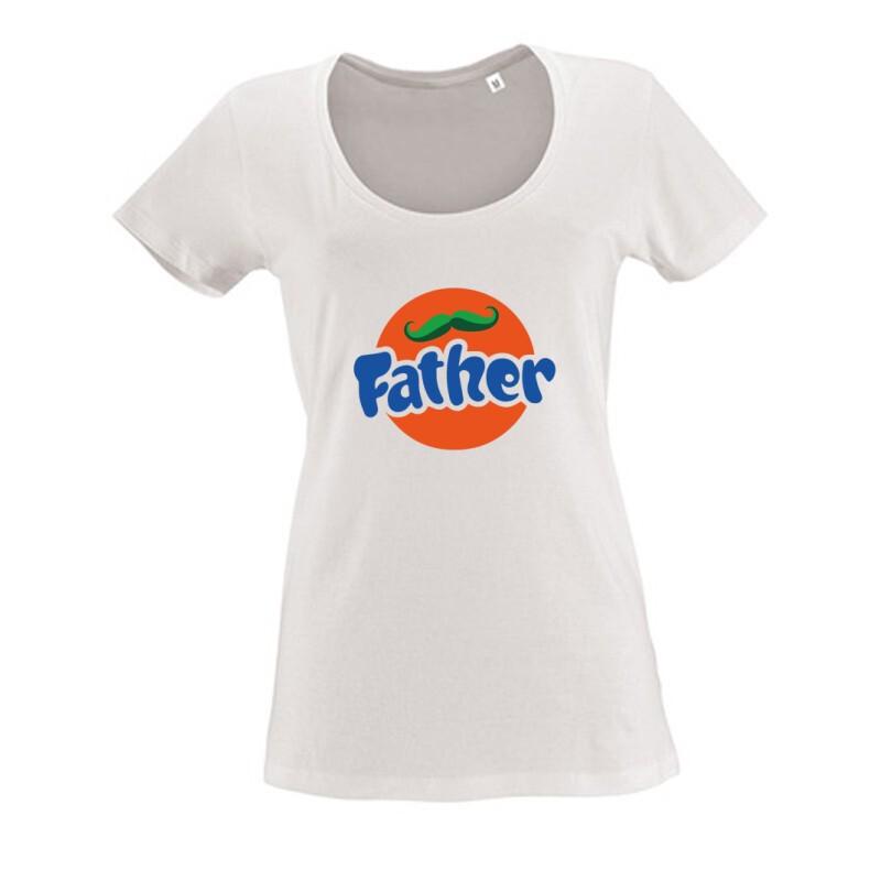 Fanta Father Női O Nyakú Póló