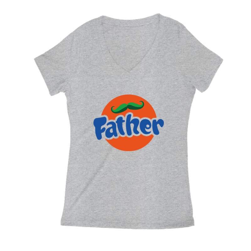 Fanta Father Női V Kivágott póló